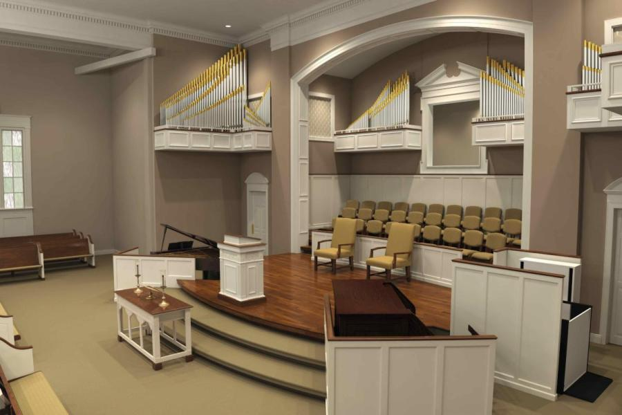 Traditional Church   Sanctuary Renovations   Church Interiors Products   Services