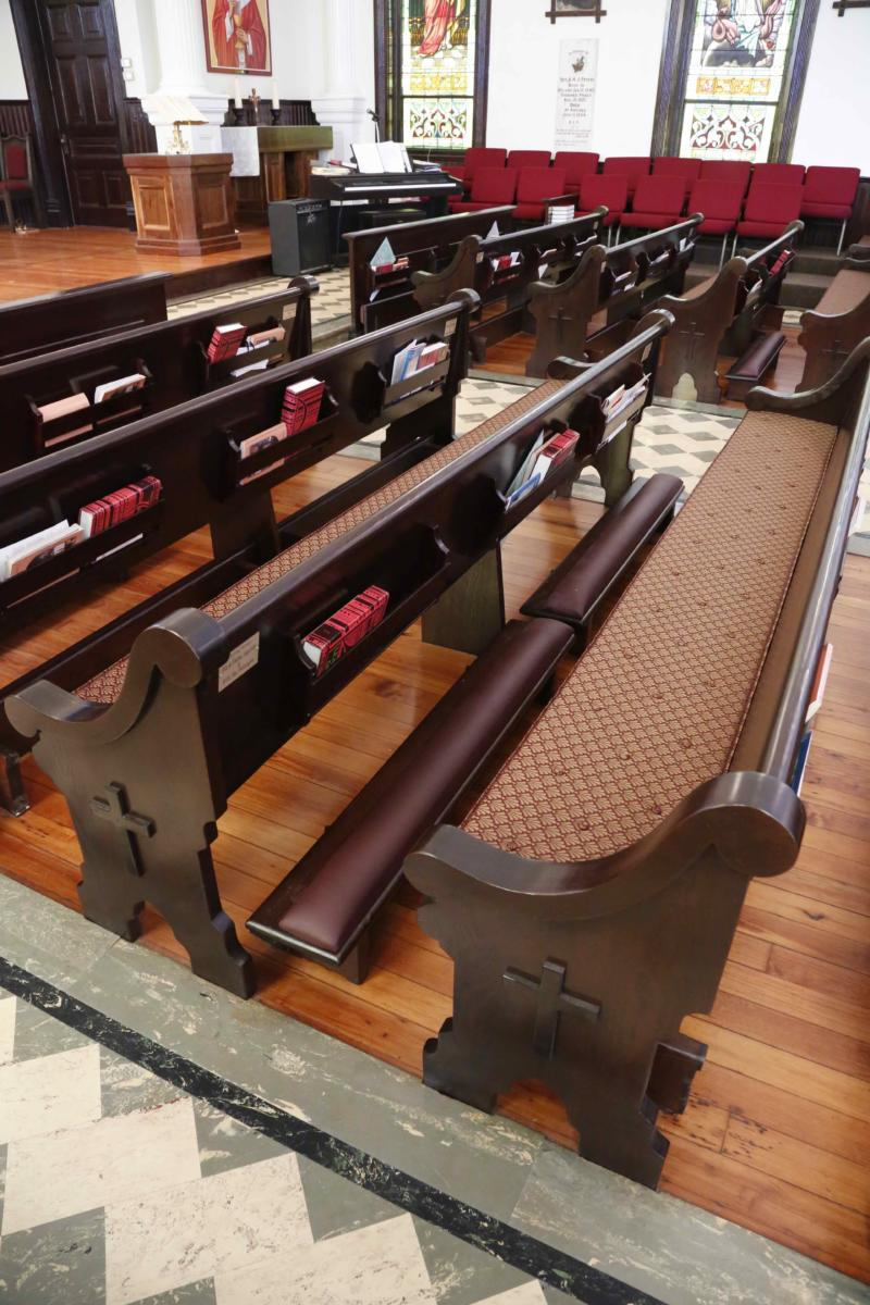 Pew Cushions Amp Pads Cushioning For Church Pews Church