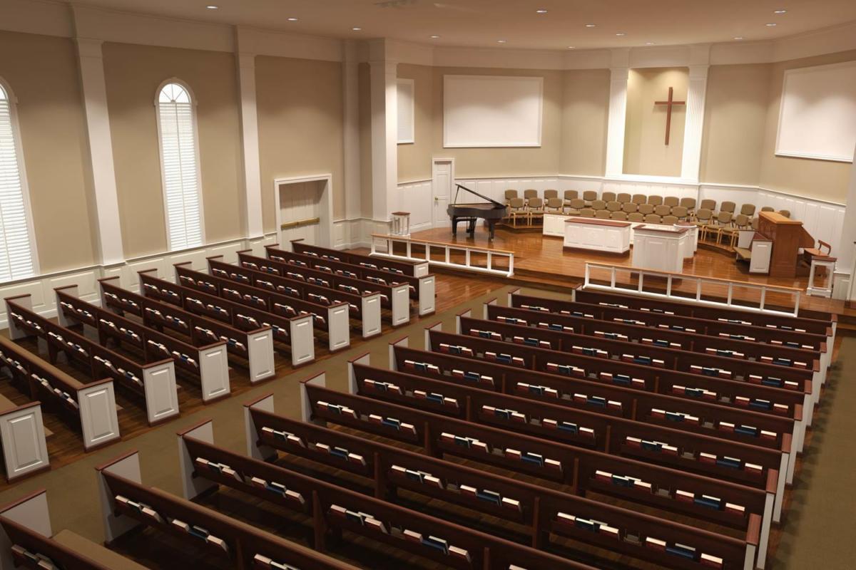 Chairs Church Foyer