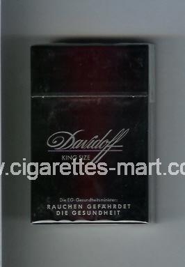 Davidoff (design 1) ( hard box cigarettes )