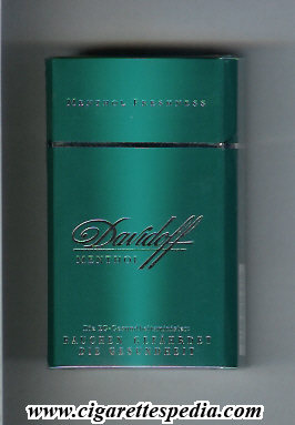 How To Order Cigarettes Davidoff Menthol | Cigarettes