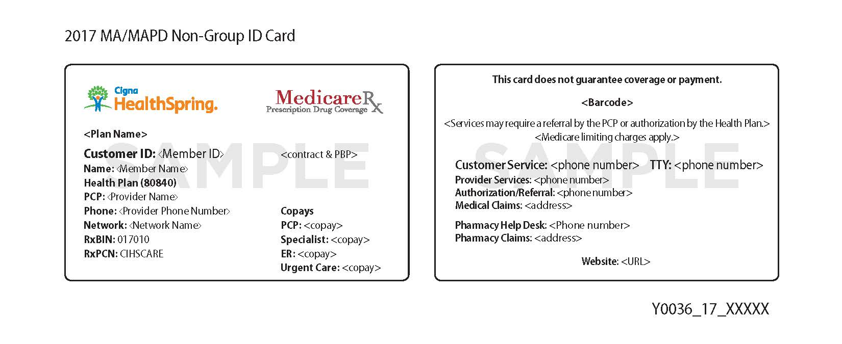 Aetna Medical Insurance Id Cards