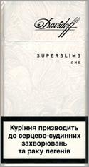 CHEAP Davidoff Super Slims One (White) 100`s at CIGoutlet.Net