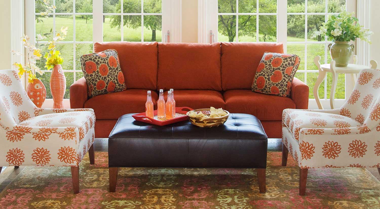 Circle Furniture Del Ray Ottoman Ottomans Boston