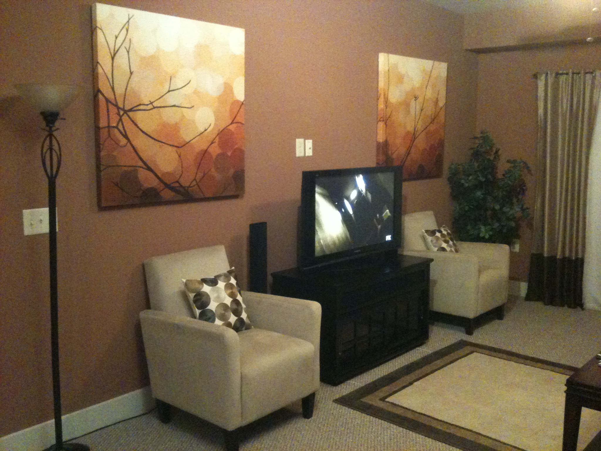 Painting And Decorating Ideas Living Room