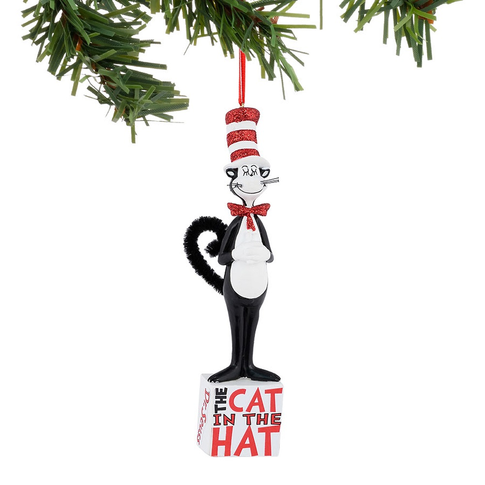 cat christmas vacation ornament