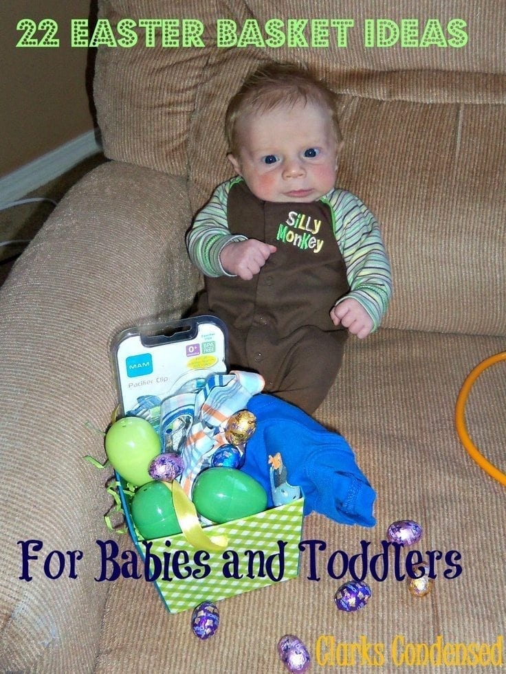 baby with easter basket ideas