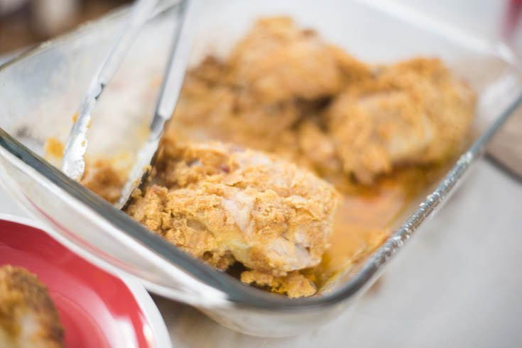 Baked Oven Fried Chicken