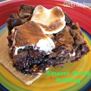 Easy S'more Bread Pudding