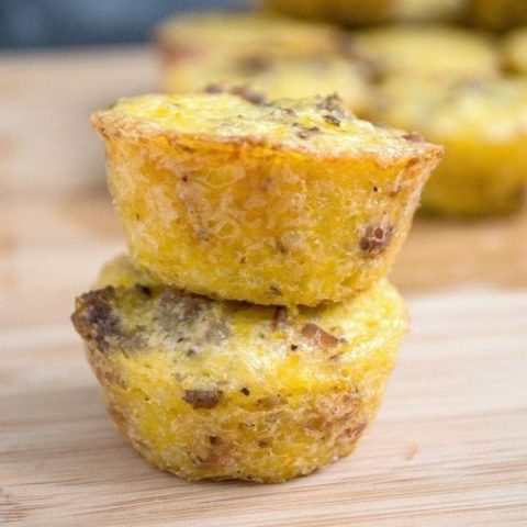 Sausage Grits Muffins