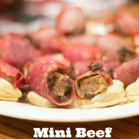 Mini Beef Wellington Appetizers