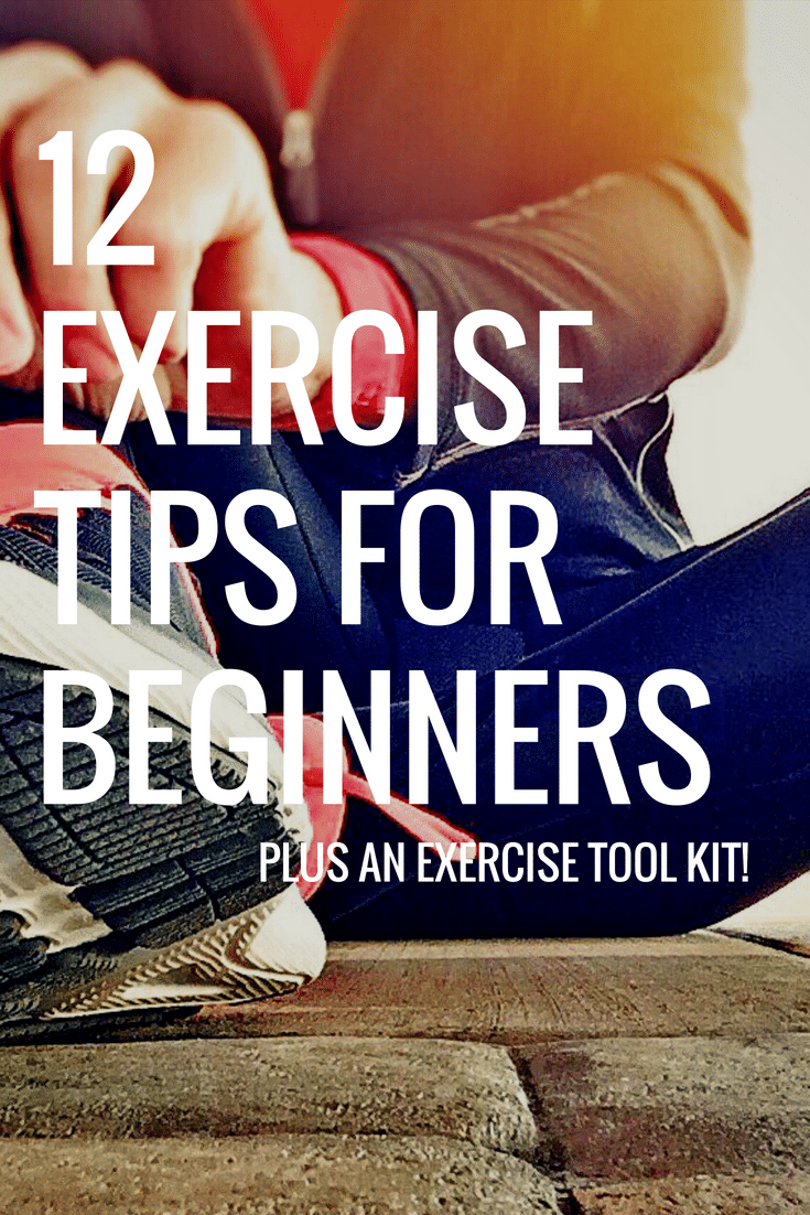 Exercise for Beginners: 12 Must-Know Tips to Get Moving via @clarkscondensed