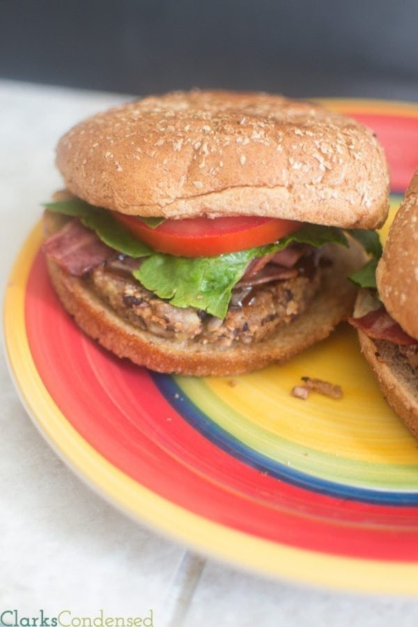 A gluten free and vegan friendly black bean burger, kicked up a notch with roasted sweet potatoes and sriracha. Perfect for summer grilling, this black bean burger is healthy, filling, and most importantly, delicious!