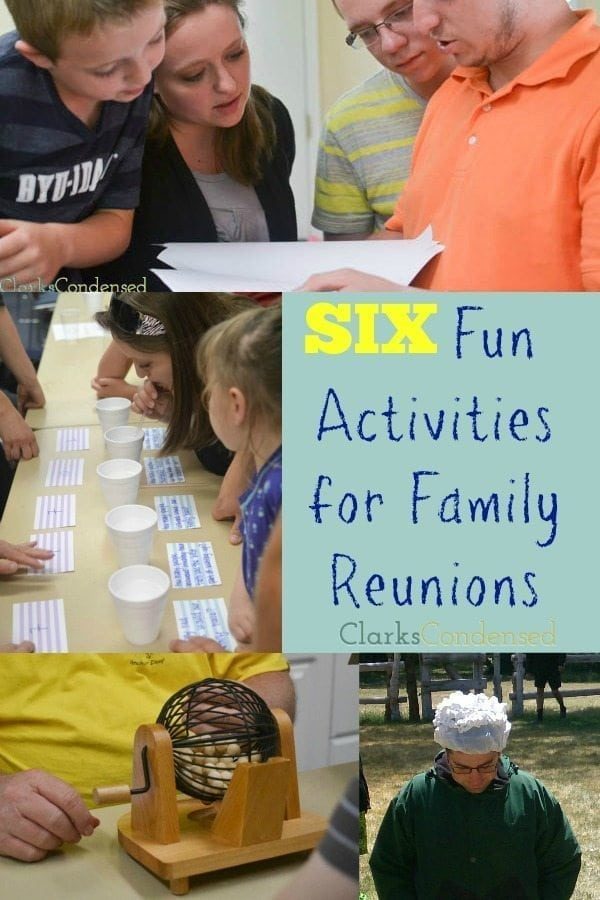 Seven Awesome Family Reunion Games