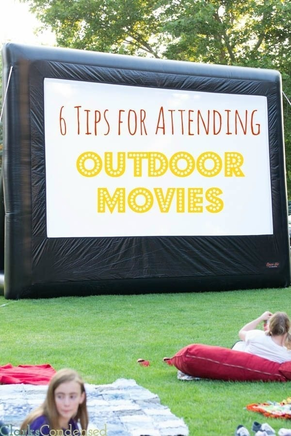 Summertime is filled with fun, outdoor movies! They are a great way to spend time with your family , get some fresh air, and  enjoy a free activity. Here are a few tips for making your outdoor movie experience even better.