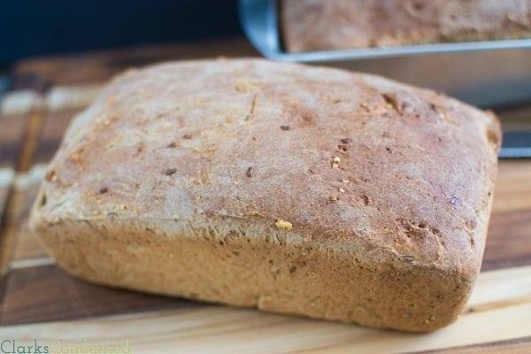 Multigrain wheat sandwich bread