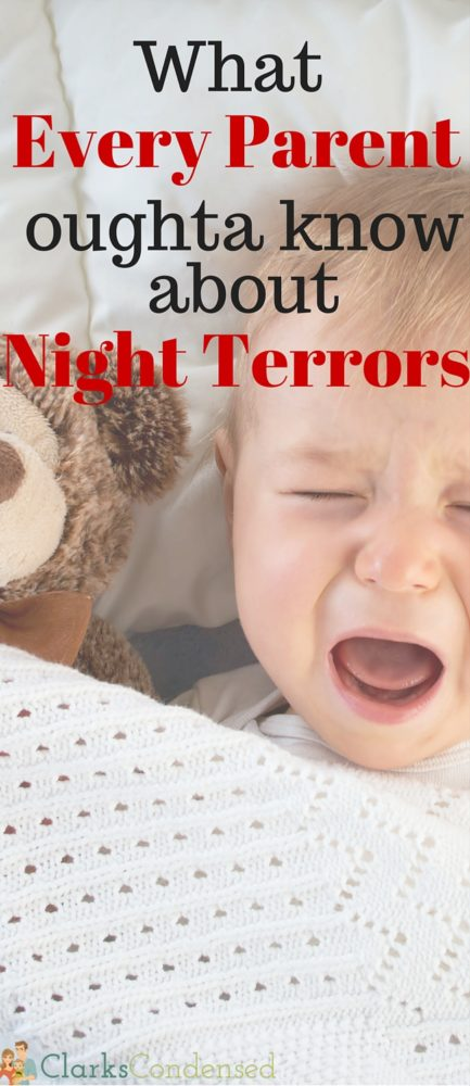 Night terrors are scary for all involved. Here's what to know, why they happen, and what you can do to prevent them. via @clarkscondensed
