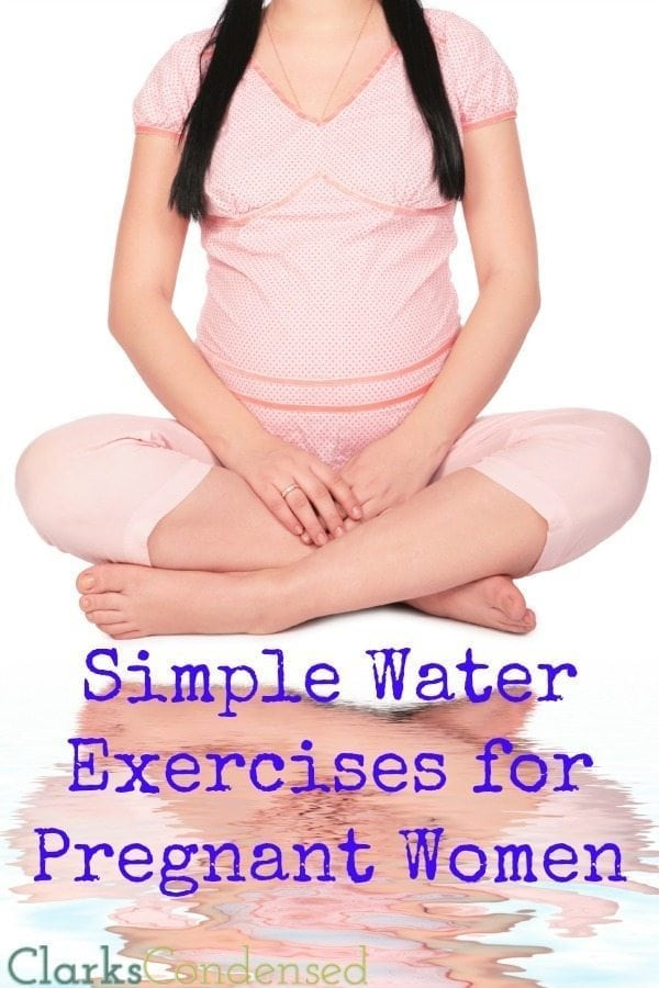 Exercise during pregnancy is very important - and water exercises can be some of the best during pregnancy! Here are a few simple water exercises you can safely do throughout pregnancy.
