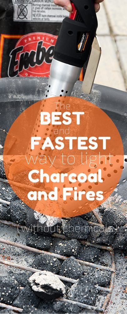 This is truly the best and fastest way to light charcoal and fires. Perfect for outdoor cooking! via @clarkscondensed