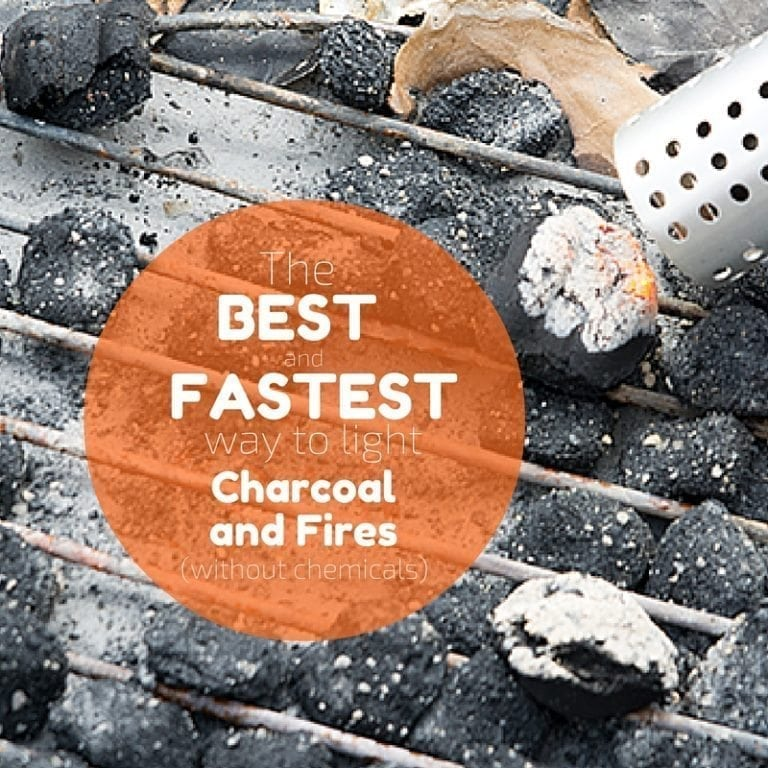 The best way to light charcoal