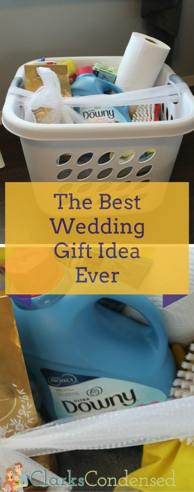 The best wedding gift idea ever! This is great for those couples that already seem to have everything :) via @clarkscondensed