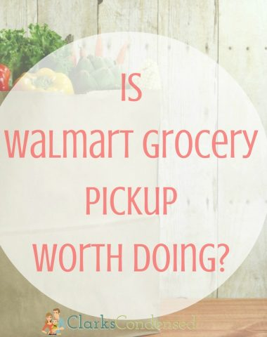 is walmart grocery pickup worth doing