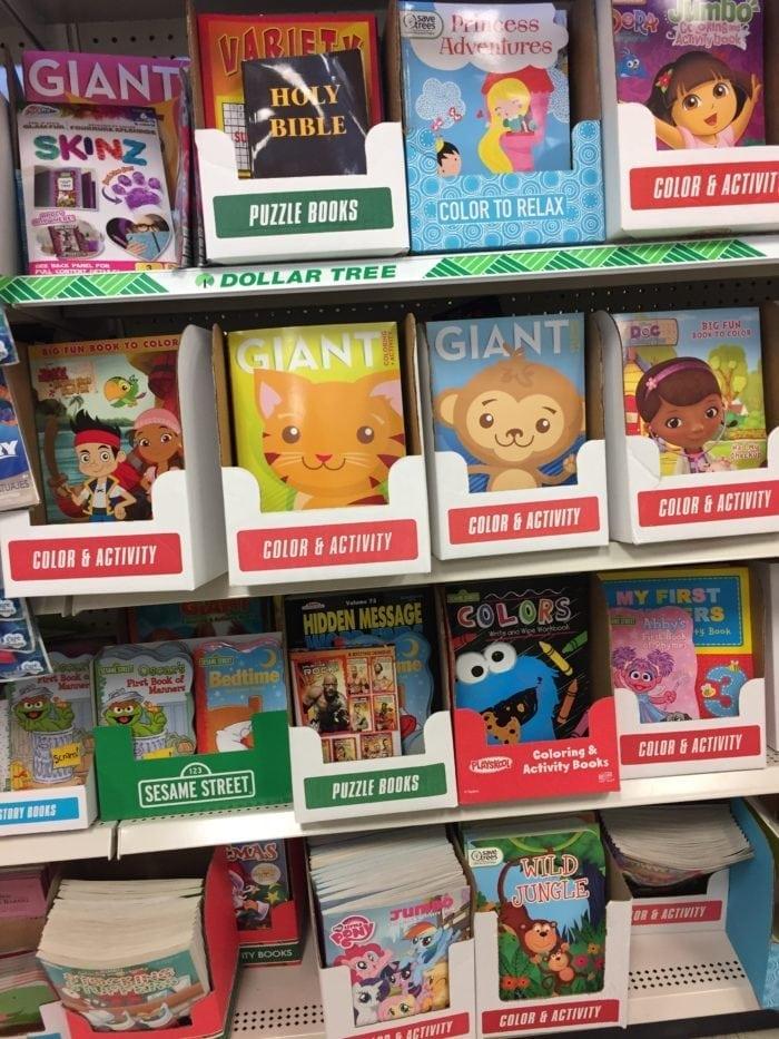 Children\'s books on display