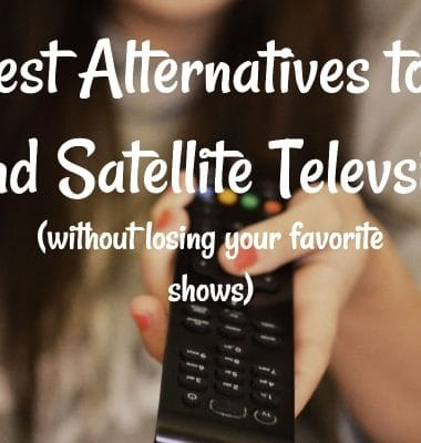Alternatives to Satellite Television Image