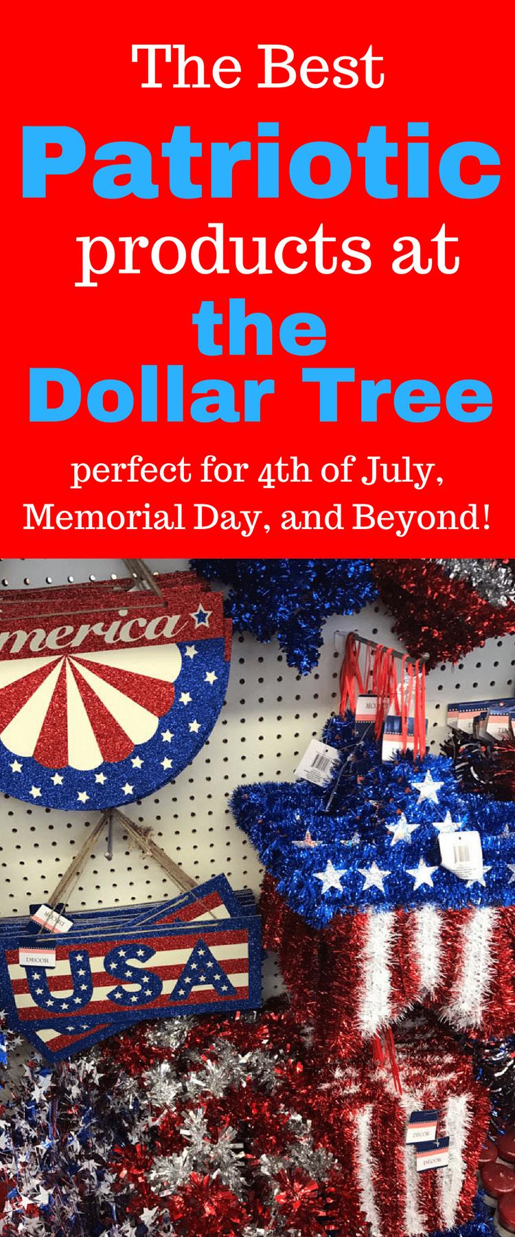 Dollar Tree Products / Dollar Tree Fourth of july / Fourth of July Ideas / Fourth of July Decorations / Dollar Tree Ideas / Dollar Tree DIY via @clarkscondensed