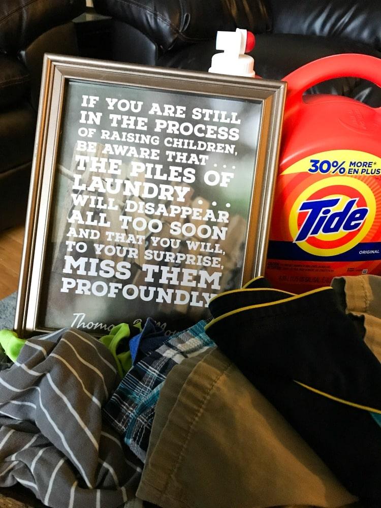 FREE Printable Laundry Signs - Laundry Thomas S Monson