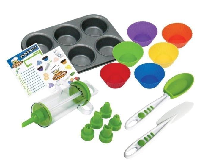 Cupcake making toy set