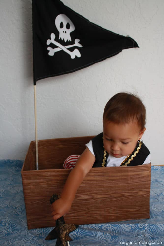 pirate  costume for baby