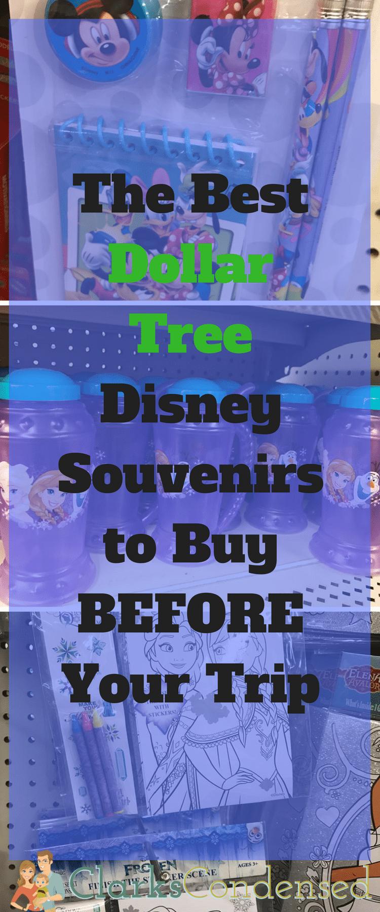 Dollar Tree / Dollar Tree Disney / Disneyland / Disney Souvenirs / Dollar Tree Products via @clarkscondensed