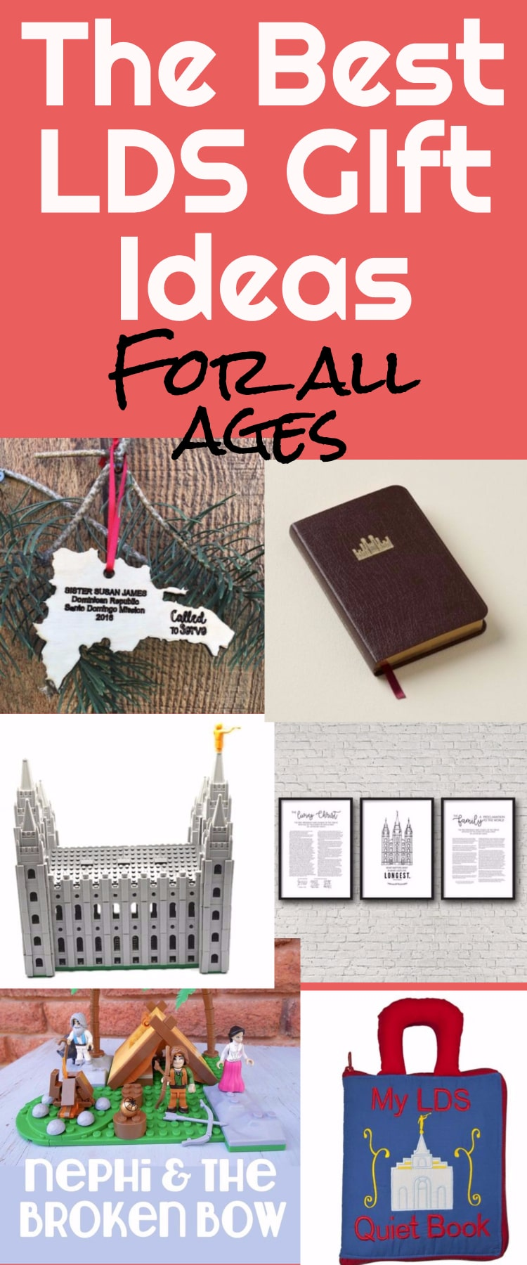 LDS Gifts / Mormon Gifts / Christmas Gifts / LDS / Mormon #LDS #Mormon #GiftIdeas via @clarkscondensed