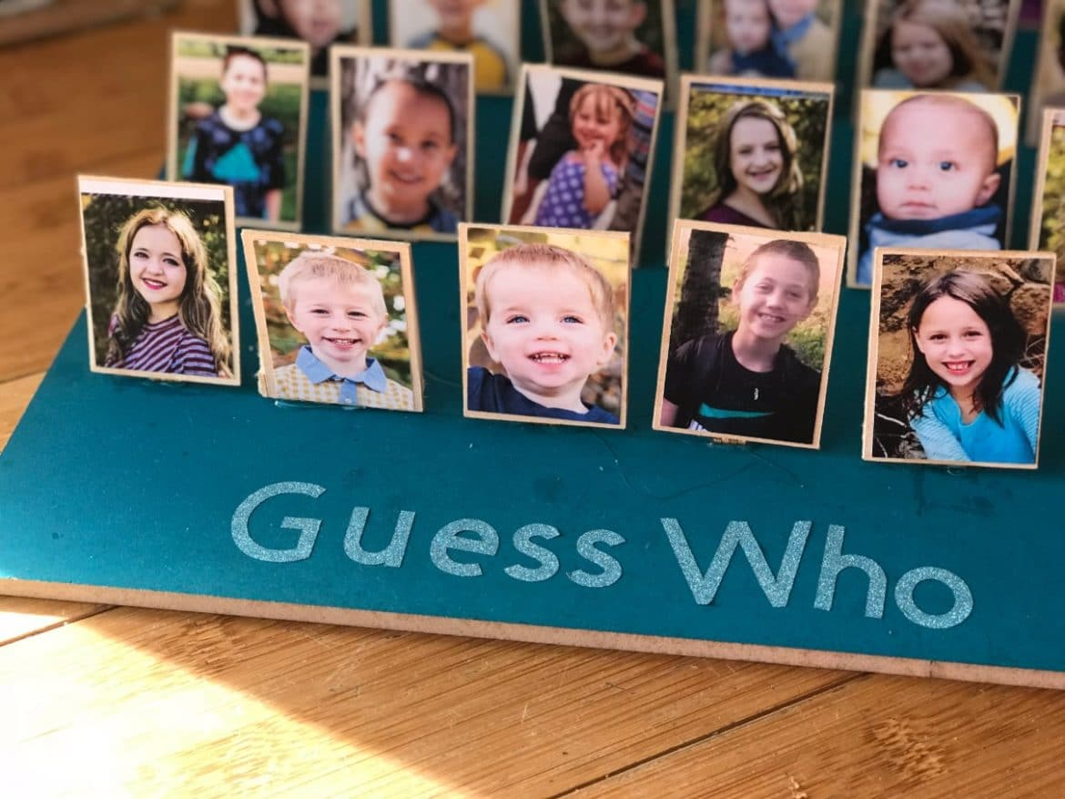 diy guess who game