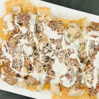 Olive Garden Loaded Pasta Chips Recipe