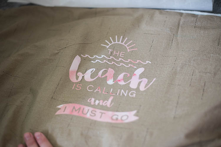 the beach is calling and I must go