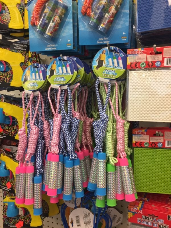 A bunch of items that are on display in a store