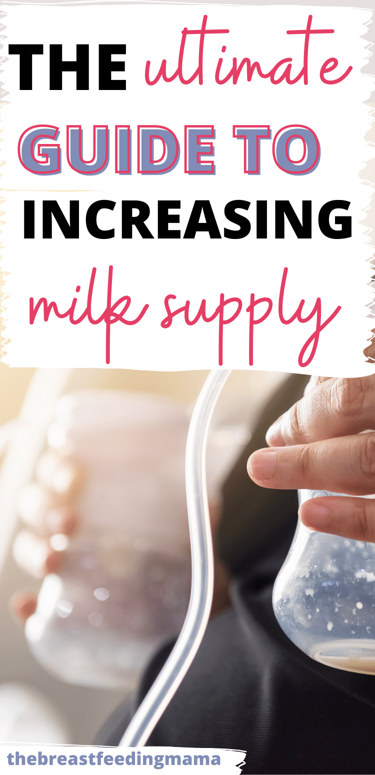 """Most breastfeeding mothers ask themselves at one time or another, """"Am I producing enough milk?"""" Chances are - you are! But if you are in that boat, this post will answer all the questions you have about if you have low milk supply and how to increase milk production. via @clarkscondensed"""