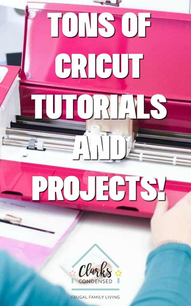 Cricut Projects / Cricut DIY / DIY Cricut Projects via @clarkscondensed