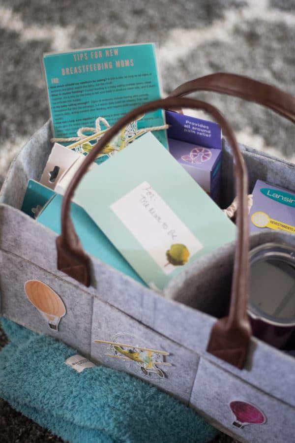 Breastfeeding Gift Basket