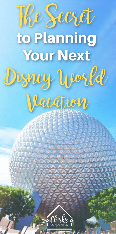 The secret to planning your next Disney World Vacation / Disney World Tips / Disney World Planning via @clarkscondensed