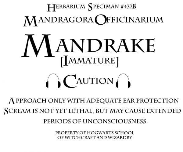 mandrake sign