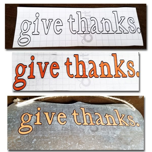 give thanks message board