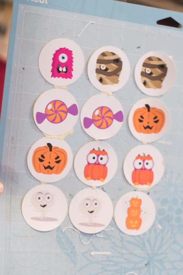Cricut and Matching game