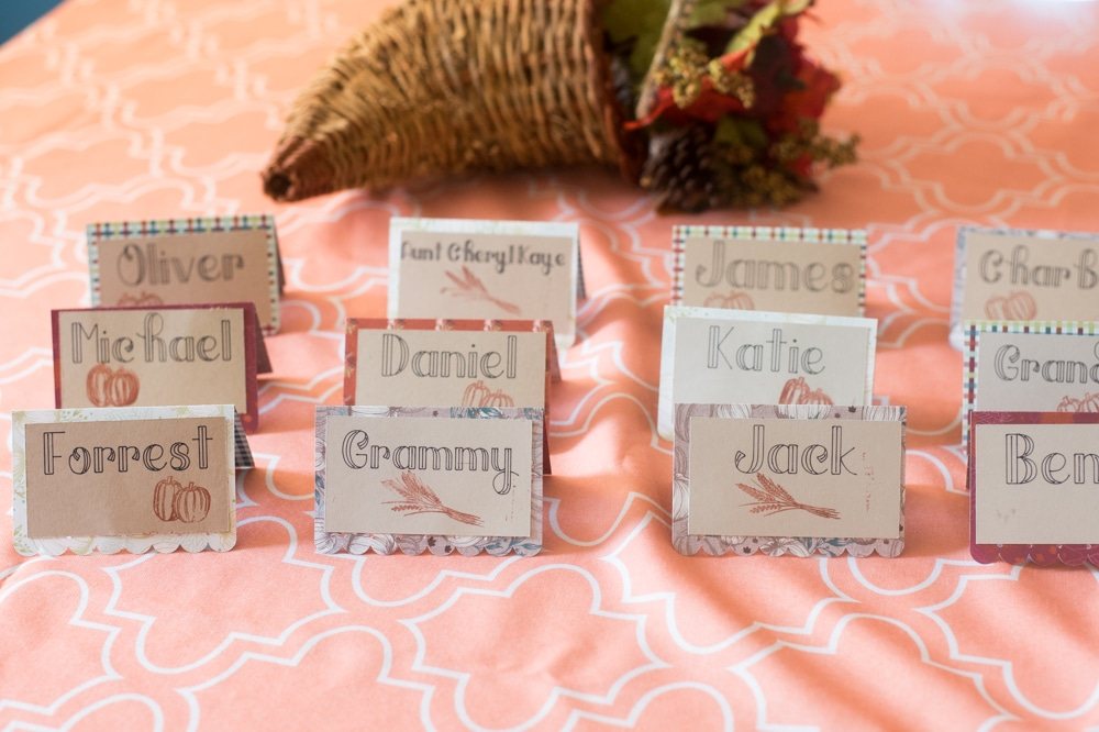Place Setting Card