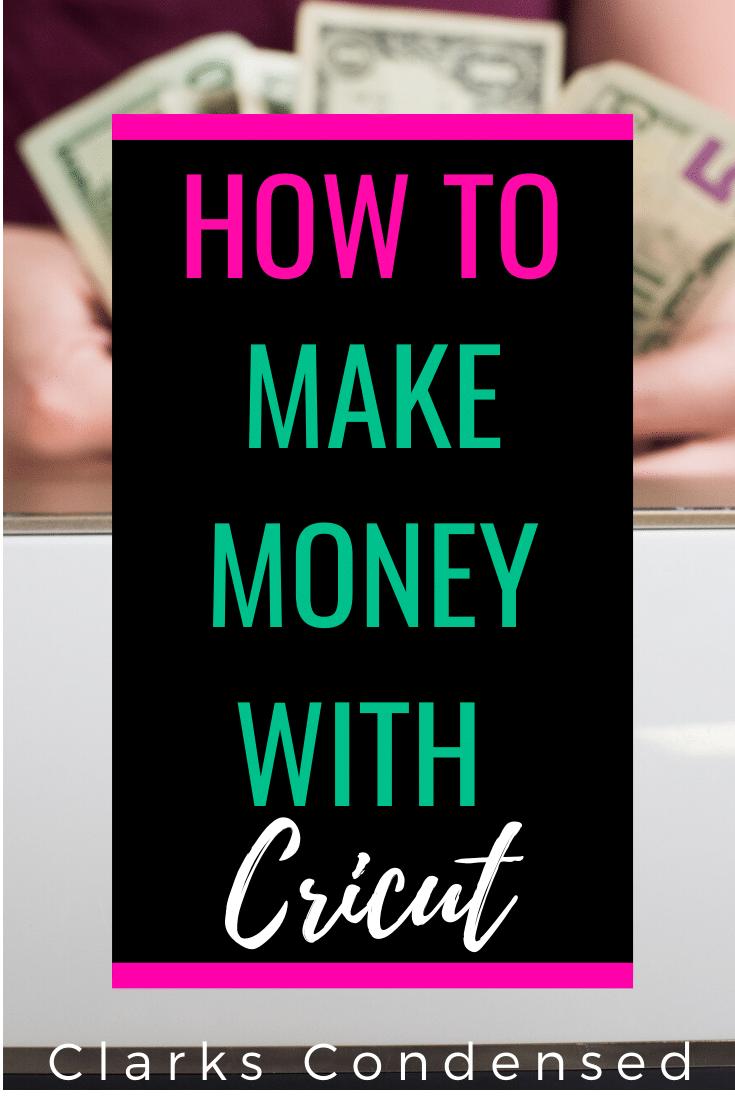 Cricut and Money