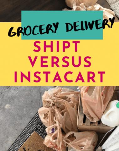 Shipt versus Instacart banner