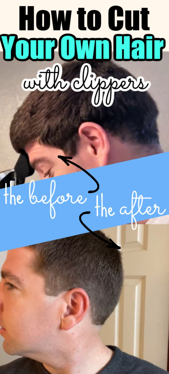 Here is an easy tutorial on how to cut your own hair for men with clippers! via @clarkscondensed