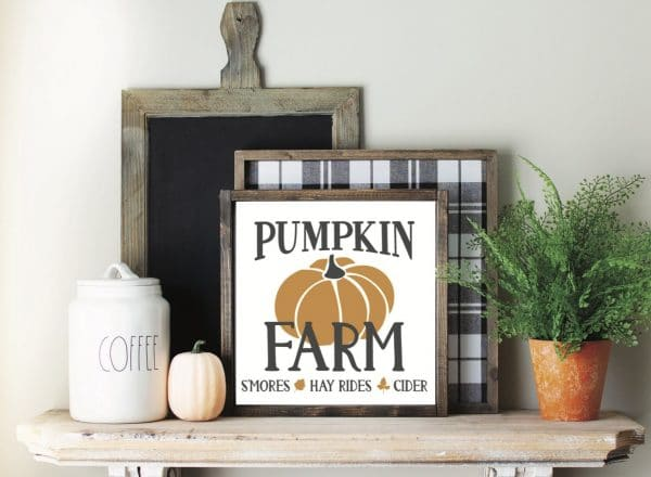 Farmhouse Pumpkin Farm Sign